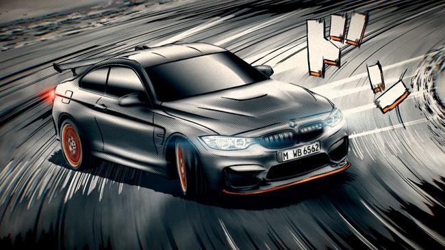 BMW M4 GTS – MANGA