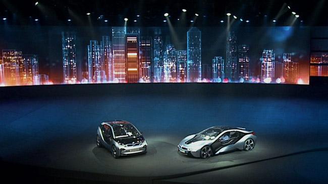 BMW i8 – BORN ELECTRIC