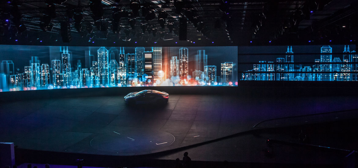 bmw i8 i3 trade fair motor show tron motion graphics design IAA 2011 12frames jan schönwiesner event visuals electric city