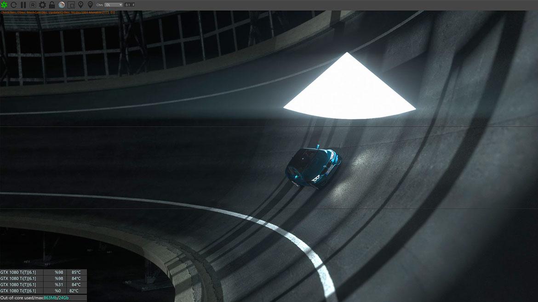 BMW M IAA Making Of 2017 rendering 3D