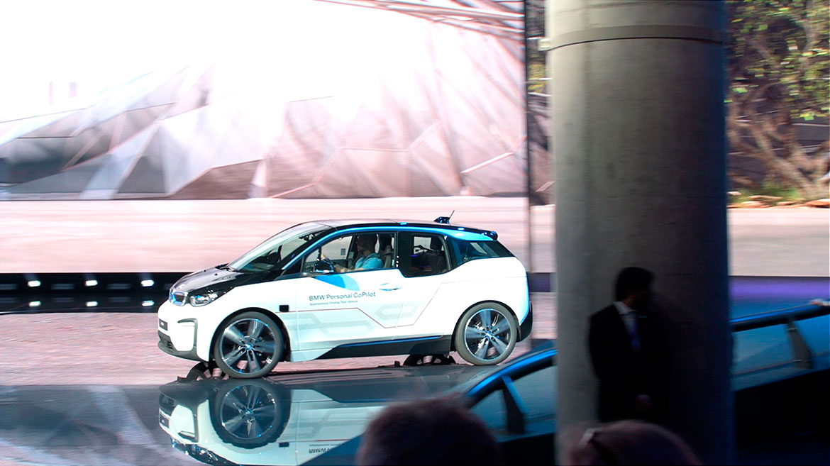 BMW IAA Messe 2017 i3 car ballet