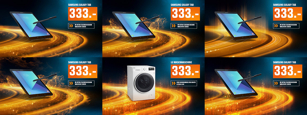 saturn mediamarkt redesign art direction styleframe elektronik markt motion design