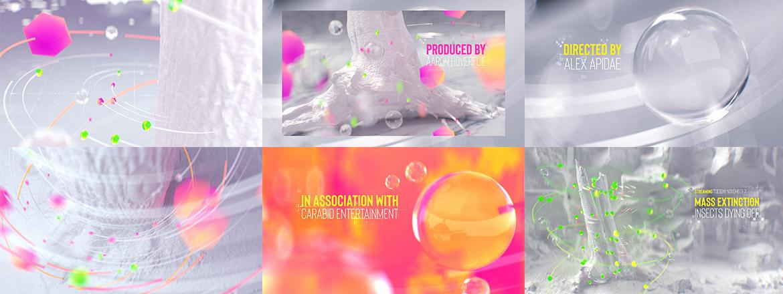 title design Styleframes Jan Schönwiesner 12frames