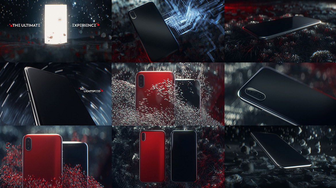 THE ULTIMATE EXPERIENCE Style Frames & Concept Styleframes Jan Schönwiesner 12frames motion graphics art direction