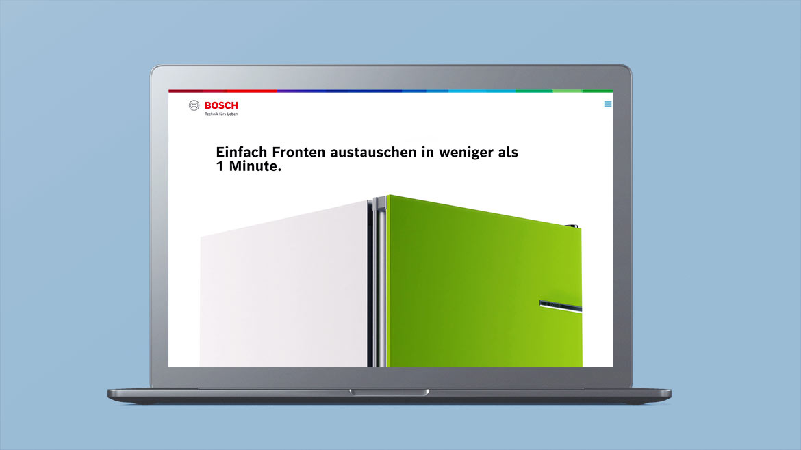 Style Frames & Concept Styleframes , Art Direction, Bosch IFA 2020 website 3D design motion graphics 12frames jan schönwiesner, 3D, Animation , München, Sally